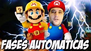 Super Mario Maker - FASES AUTOMÁTICAS thumbnail