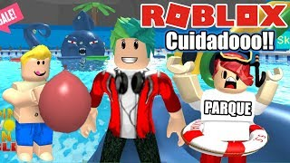 Roblox Water Park Slides in the Park Roblox Karim Games Play