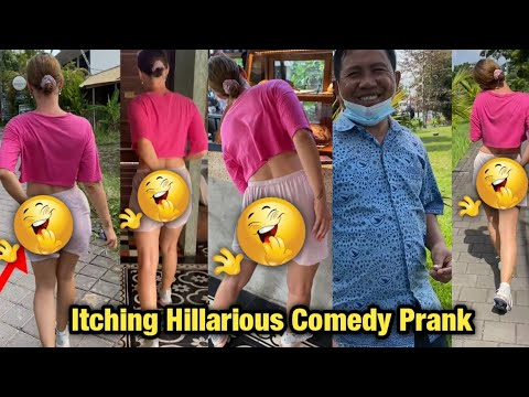 Download Must Watch😂➡️itching 😂Funny Prank itching comedy prank
