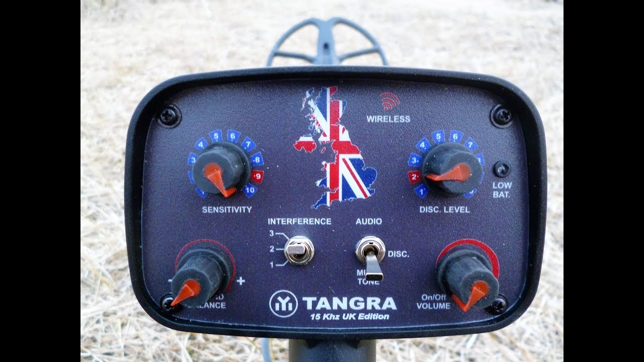 Tangra Uk Edition Metal Detector 9 12 Spider Coil Air Test Youtube This Simple Bfo Requires