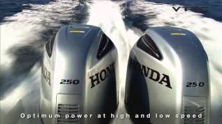 Презентация лодочного мотора Honda 250 BF