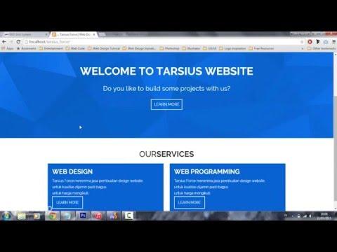Cara Membuat Responsive Website(PSD Ke HTML & CSS) 2/3
