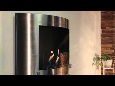 Olympia - Ethanol Fireplace by Eco-Feu