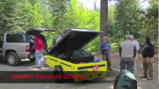 Lightweight Enclosed Sport Trailers - SPACE Trailer
