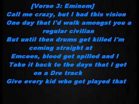 The monster Eminem ft Rihanna lyrics