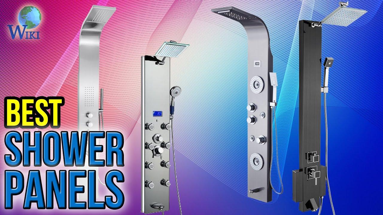 6 Best Shower Panels 2017 - YouTube