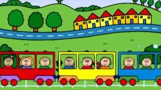Teddy's Train пісні англійською для дітей