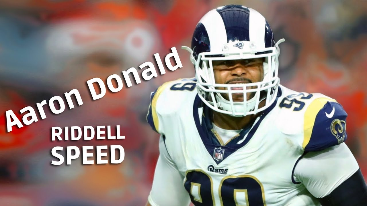 Helmet Review Aaron Donald Riddell Speed Youtube