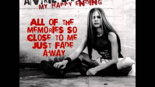 My Happy Ending (clean) Avril Lavigne lyrics