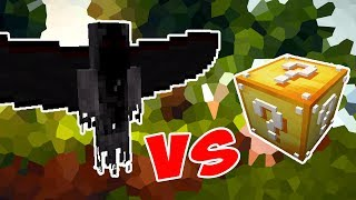 DEMONIC ANGEL VS. LUCKY BLOCK (MINECRAFT LUCKY BLOCK CHALLENGE MOONKASE)