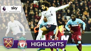 Matchwinner Salah! | West Ham United - FC Liverpool 0:2 | Highlights - Premier League 2019/20