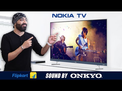 Nokia TV Launched with Built in ONKYO Soundbar - All the Details - Pros and Cons