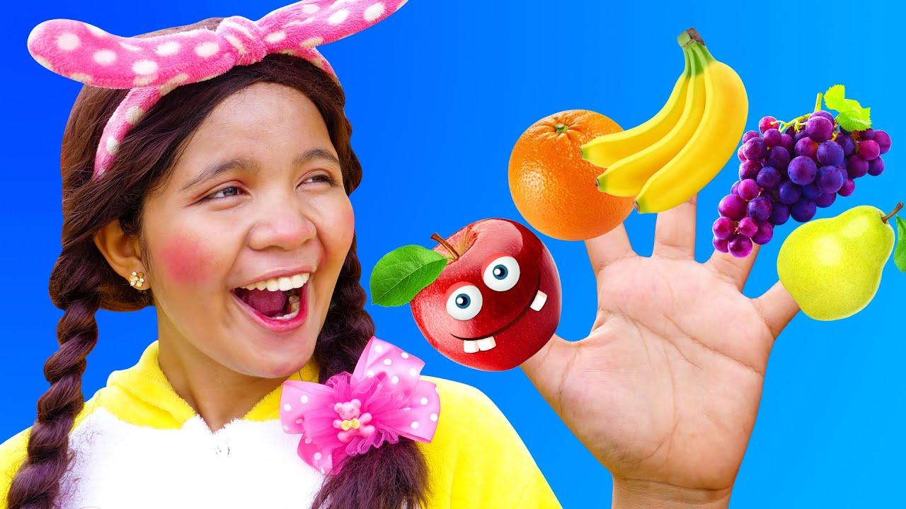 Finger Family Song with Fruit Family