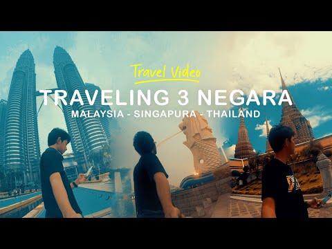 Traveling 3 Negara dalam 1 Minggu | Malaysia - Singapura - Thailand | Travel Video #05