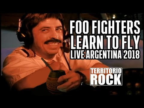Foo Fighters - Learn To Fly (Live Argentina 2018) Multi Cam Fans | Territorio Rock