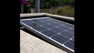Fotovoltaico fai da te con accumulo - illuminazione notturna(In estate il pannello produce più di quanto consuma perché abbiamo sole forte e tempo d'illuminazione ridotto. Quando progettate un impianto tenete sempre ..., 2016-07-01T16:20:25.000Z)