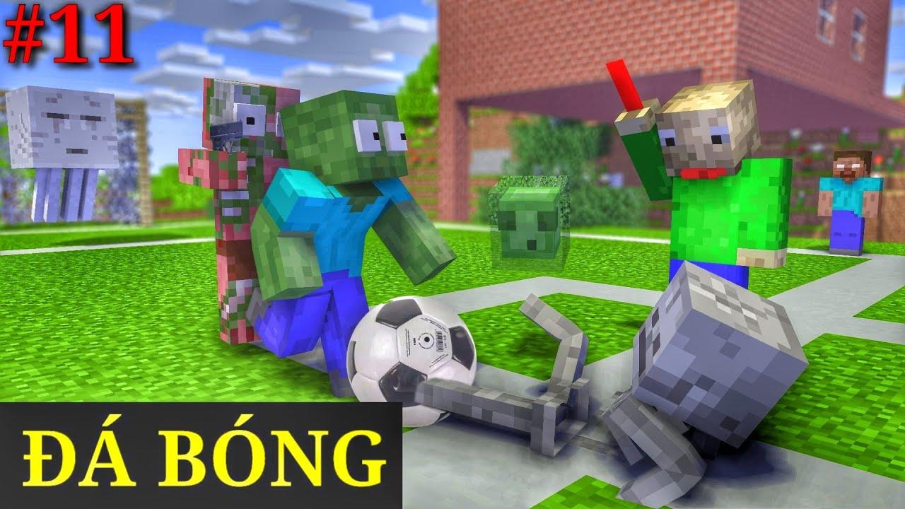 [ Lớp Học Quái Vật ] TRẬN BÓNG THÚ VỊ | Minecraft Animation