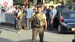 Erdoğan'ın Otomatik Silahlı Yeni Korumaları 2017 Video