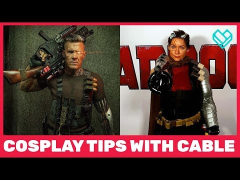 Cable Cosplay Tips with Deadpool 2 Star Josh Brolin