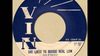 FRANKIE LEE SIMS - SHE LIKES TO BOOGIE REAL LOW [Vin 1006] 1958