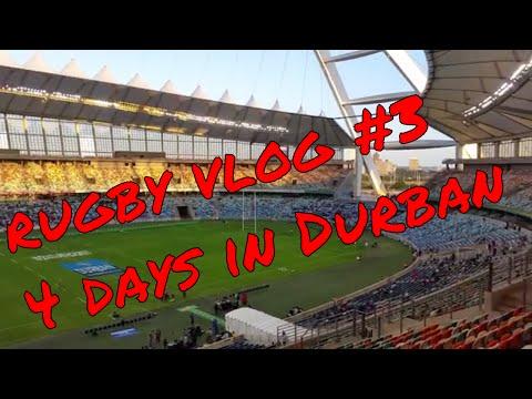 Rugby Vlog #3 - 4 days in Durban