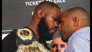 Ozzy Man Reviews: Jon Jones UFC Stare Downs