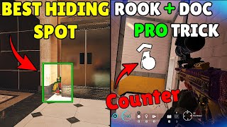 *SECRET* Hiding Spot On Bank That No One Know | Pro Players 800 IQ Counter Trick - Rainbow Six Siege