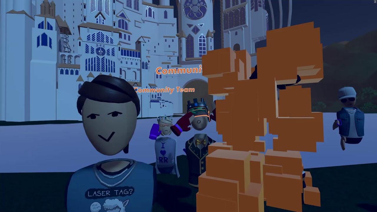 Rec Room Stream! Community Hangout and Games!