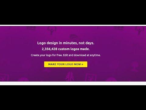 Cara membuat logo sendiri secara online tanpa install software di komputer. cara membuat logo online.