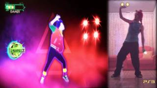 "05. Just Dance 3 PS3 - ""a-ha - Take On Me"" 5 stars"