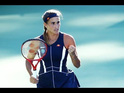 Monica Puig vs. Caroline Garcia | 2018 Connecticut Open Quarterfinals | WTA Highlights