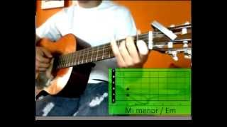 "Cómo tocar en guitarra ""Querido Tommy - Tommy Torres"" Video tutorial"