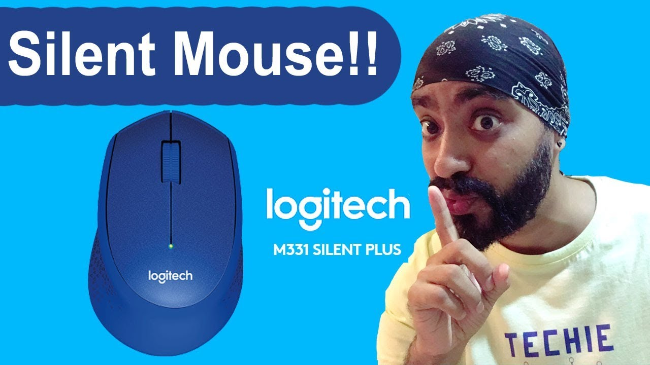Logitech M331 silent plus  wireless mouse unboxing and overview