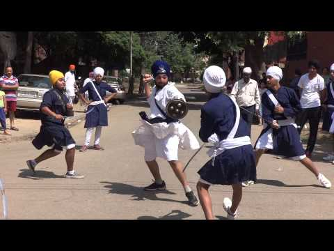 Best performance by Chandigarh Gatka association