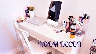 Room Decor: Dressing Table & Makeup Storage!