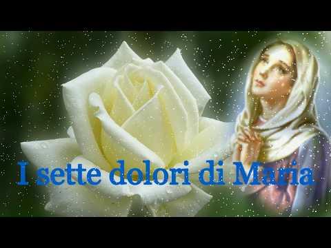 I sette dolori di Maria - Preghiera per chiedere una grazia rivelata a S.Brigida