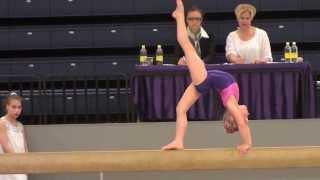 Tilda Norman Artistisk gymnastik Guldpokalen Steg 4 2013-04-28