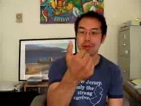 Andrew Bending His Thumb