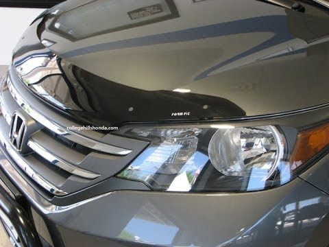Honda Accord 0 60 >> Episode #261 - 2012-2014 Honda CR-V Form Fit Air Deflector Installation - YouTube