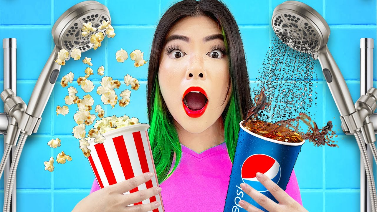 Download IF MY FAMILY WORKS AT THE MOVIE THEATER   9 FUNNY SITUATION & CRAZY FAMILY MOMENT BY CRAFTY HACKS