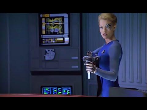 Seven of Nine, best moments   Season 5 - Star Trek: Voyager
