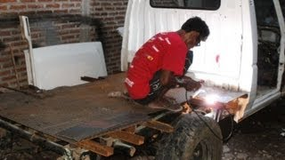 Modifikasi Daihatsu Taft Pick up Part 1