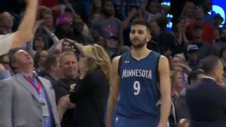 Ricky Rubio Sinks The Game Winner!