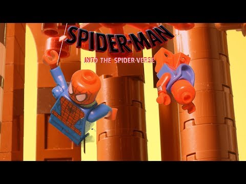 SPIDER-MAN: INTO THE SPIDER-VERSE Official Trailer Recreation