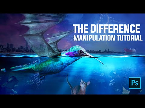The Difference - Photo Manipulation Photoshop Tutorial thumbnail