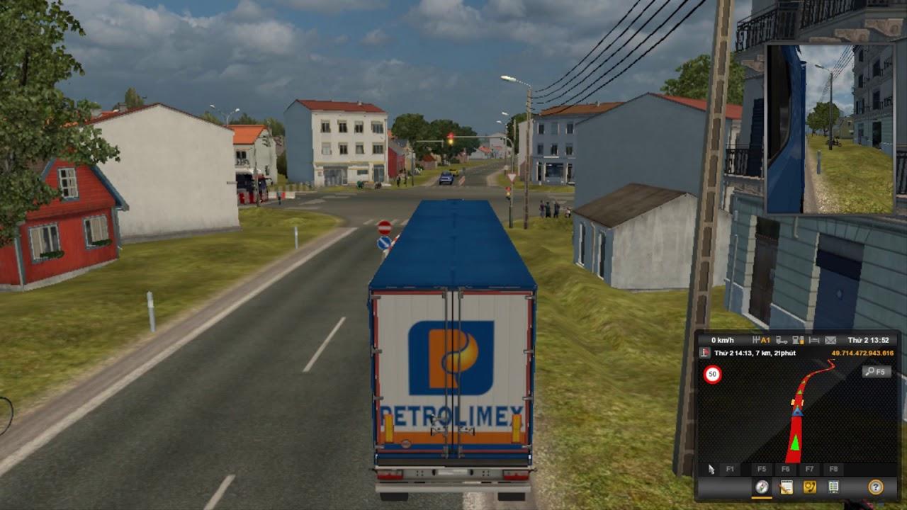 Vận chuyển xe chở hàng Axit boric ( Hòa Bình – Hà Nội )   Game ETS2   Ngọc Thắng Thế Giới Game
