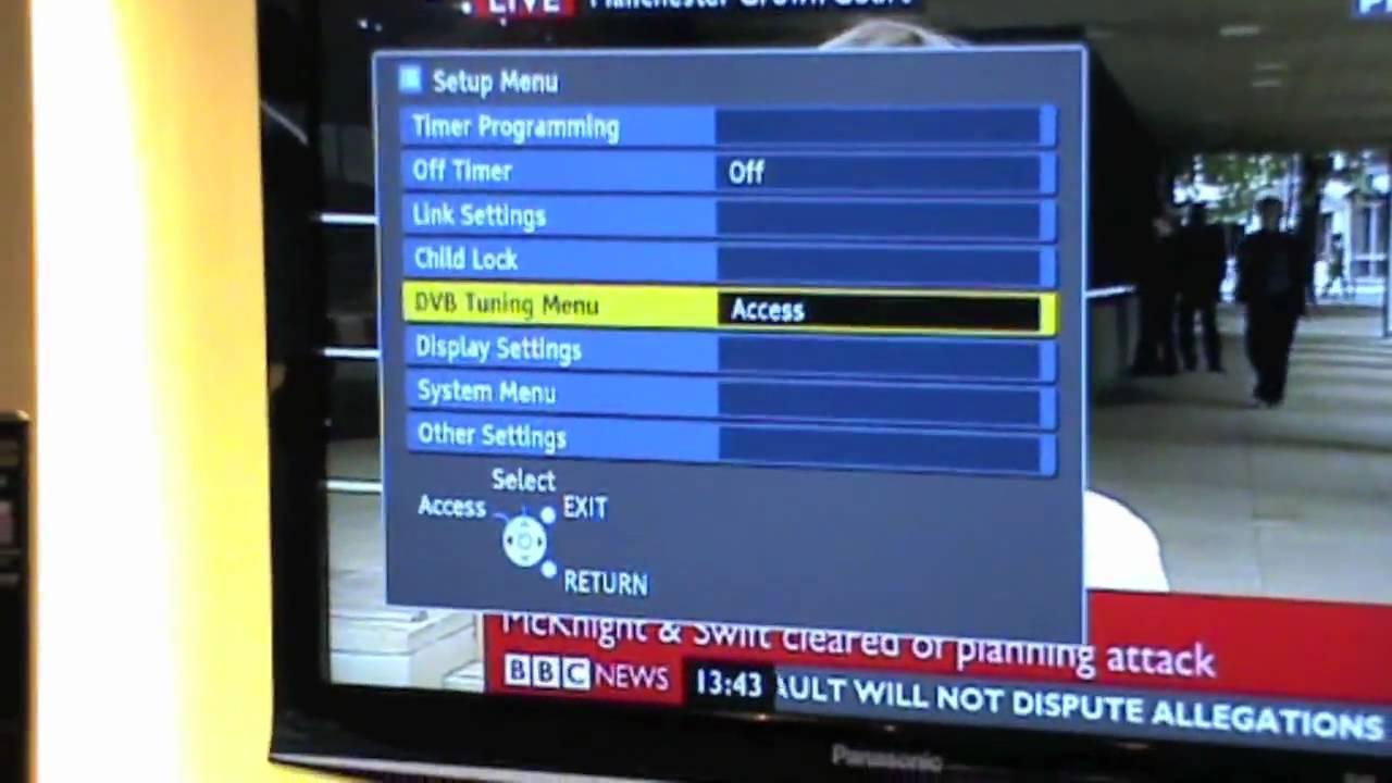 Panasonic Viera TX-40CSW614W TV Treiber Herunterladen