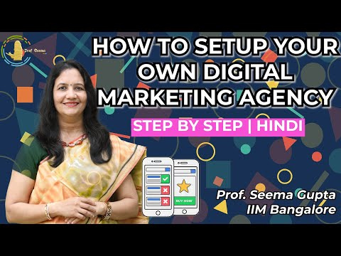 How to Set Up Your Own Digital Marketing Agency   Step by Step Guide   Hindi