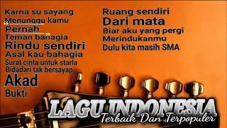 Lagu Indonesia Terbaru Teman Kerja Dan Bersantai Versi Akustik