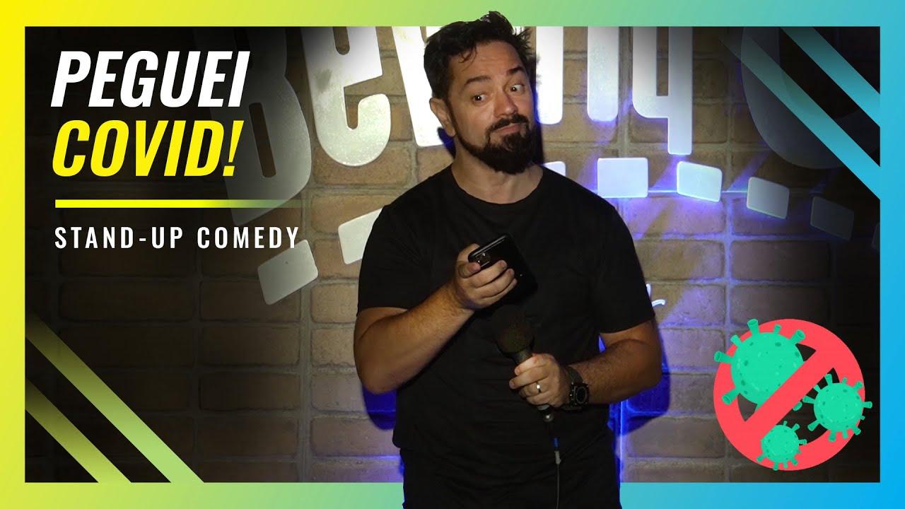 PEGUEI COVID - ROGÉRIO VILELA | Stand up Comedy